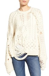 Zadig And Voltaire Women's Kary Open Knit Sweater