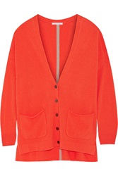 Duffy Two Tone Cashmere Cardigan