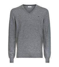 J. Lindeberg J.Lindeberg Lymann True Merino Sweater Male Light Grey