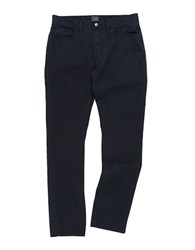 Grayers Slim Fit Slub Twill Pants Dark Navy