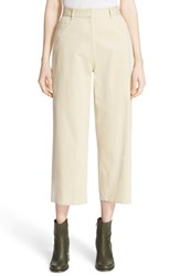 Tibi Women's Stretch Cotton Crop Carpenter Pants