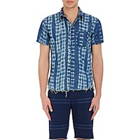 Nsf Men's Short Sleeve Ken Shirt Blue