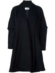 Chalayan Lantern Sleeve Coat Black