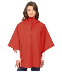 Converse Rubber Poncho Signal Red Women's Clothing Multi