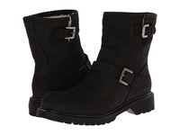 La Canadienne Hayes Black Nubuck Shearling Lined Women's Boots