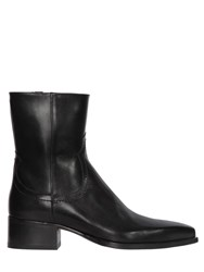 Dsquared 50Mm Western Leather Boots