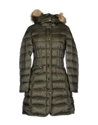 Atelier Fixdesign Down Jackets Military Green