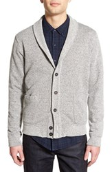 Men's Velvet By Graham And Spencer 'Paxton' Shawl Collar Button Cardigan