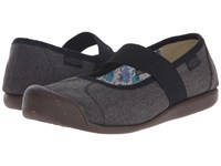 Keen Sienna Mj Canvas New Black Women's Flat Shoes