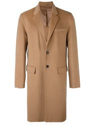 Joseph Single Breasted Coat Brown