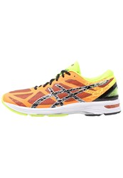 Asics Gelds Trainer 21 Nc Lightweight Running Shoes Hot Orange Black Flash Yellow