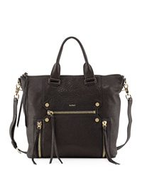 Botkier Logan Zipper Detail Tote Bag Black