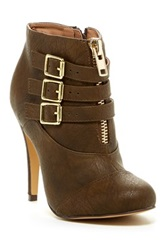 Michael Antonio Malaya High Heel Bootie Green