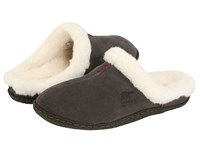 Sorel Nakiska Slide Shell Tarte Women's Slippers Black