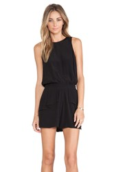 Pink Stitch Dayton Playsuit Black