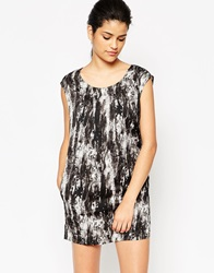 Only Printed Tunic Black