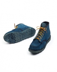 Natural Indigo Boots By Tenue De Nimes At Tenuedenimes