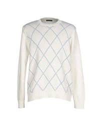 Marina Yachting Knitwear Jumpers Men White