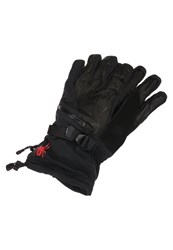 Spyder Omega Conduct Gloves Black Volcano
