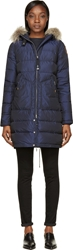 Parajumpers Navy Light Long Bear Coat