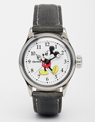 Disney Black Classic Mickey Mouse Watch