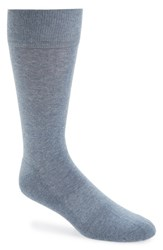 Men's Nordstrom 'Cushion Foot Arch Support' Socks Blue 3 For 30 Denim Heather