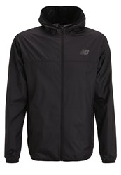 New Balance Windcheater Sports Jacket Black