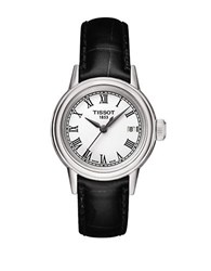Tissot Ladies Carson Watch With Leather Strap Black