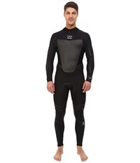 Billabong 302 Foil Plus Back Zip Black Men's Wetsuits One Piece