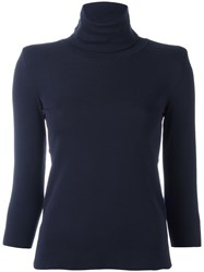 Golden Goose Deluxe Brand Roll Neck Jumper Blue