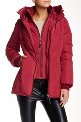 Mackage Janie Pillow Collar Down Jacket Red