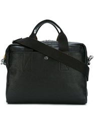 Paul Smith Ps By Contrast Handle Laptop Bag Black