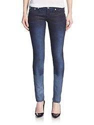 True Religion Ombre Skinny Jeans Blue