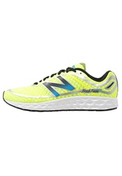 New Balance M980 Cushioned Running Shoes Yellow Blue