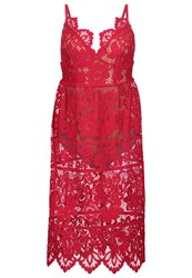 For Love And Lemons Gianna Cocktail Dress Party Dress Hot Red