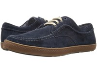 Hush Puppies Teague Roadcrew Navy Suede Gum Men's Lace Up Casual Shoes