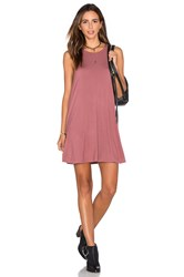 Rvca Sucker Punch 2 Dress Rose