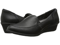 Hush Puppies Lulu Ware Black Leather Women's Wedge Shoes
