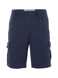White Stuff Rockland Cargo Short Navy Slub