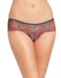 Free People Rose Lace Hipsters Burnt Orange
