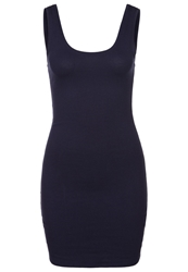 Zalando Essentials Jersey Dress Dark Blue