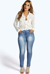 Farah Super Stretch Pull On Denim Jeggings