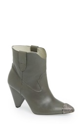 Plomo 'Sienna' Leather Boot Women Gray