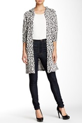Daniel Rainn Hooded Animal Printed Jacket Petite Multi