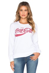 Chaser Vintage Coca Cola Graphic Tee White