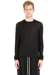 Rick Owens Double Cotton T Shirt