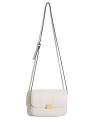 Pixie Market Ivory Boxy Cross Body Bag