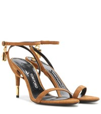 Tom Ford Suede Sandals Brown