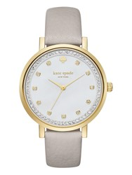 Kate Spade Clocktower Grey Pave Monterey Watch