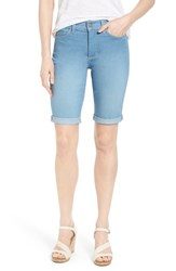 Women's Nydj 'Briella' Roll Cuff Stretch Denim Shorts